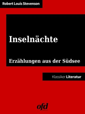cover image of Inselnächte